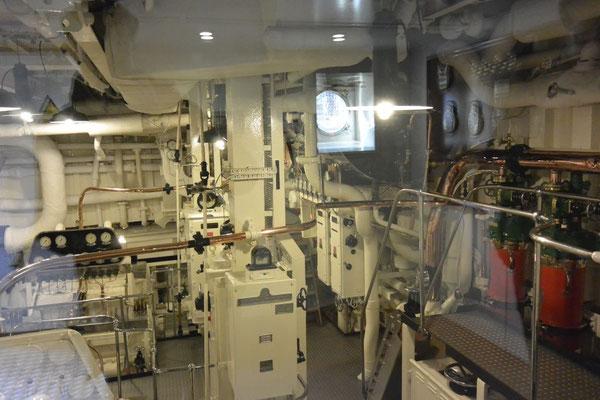 plitzeplanker Maschinenraum der Royal Britannia