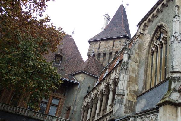 Kasimirs, Cäsars, Fredis und Kerls Eindrücke auf der Pester Seite in Budapest, Ungarn