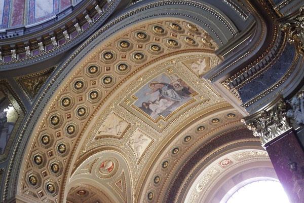 St. Stephans-Basilika, Budapest, von innen