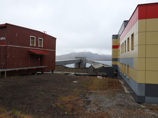 Nebenstrasse in Barentsburg