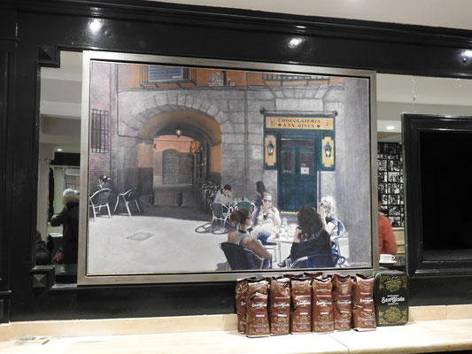 """St. Ginés, """"die"""" Chocolaterie in Madrid"""