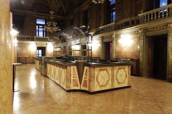 Sektempfangsbereich in der Ungarischen Staatsoper