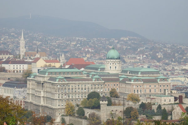 Burgpalast, Buda