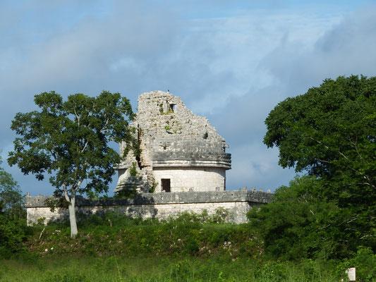 Observatorium, Chichén Itzá, Yucatán - Mexiko