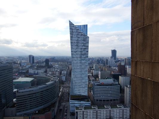 Warschau von oben