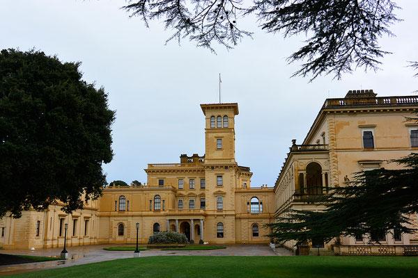 Kasimir, Cäsar, Fredi und Kerl besuchen das Osborne House von Queen Victoria auf der Isle of Wight