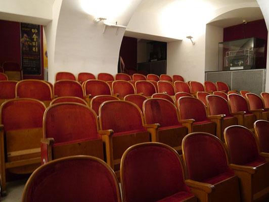 der Zuschauersaal