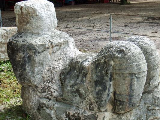 Jaguar-Opfer-Stätte, Chichén Itzá, Yucatán - Mexiko