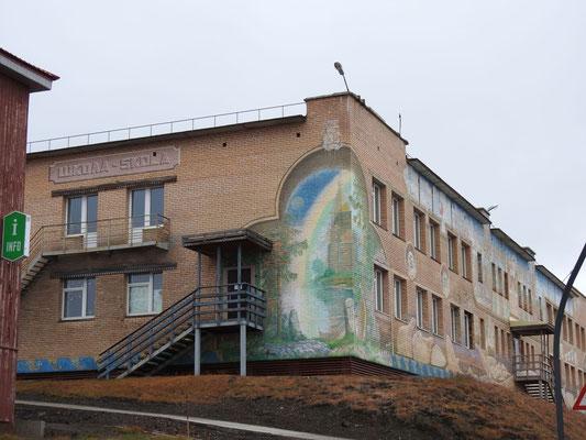 die Schule in Barentsburg