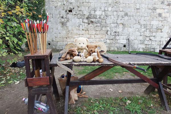 Oha - mittelalterliches Bogenschießen mit uns auf dem Gellértberg, Buda, Budapest