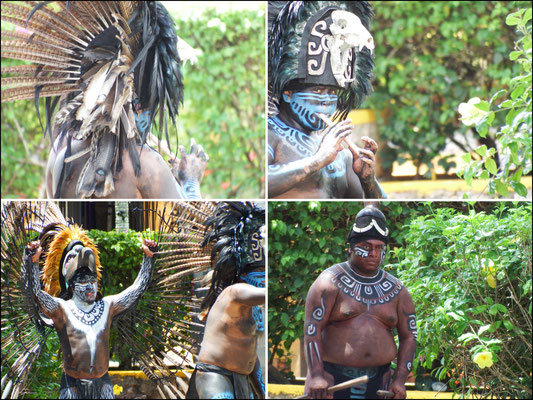 Und so waren die Maya vor 1.400 Jahren unterwegs.
