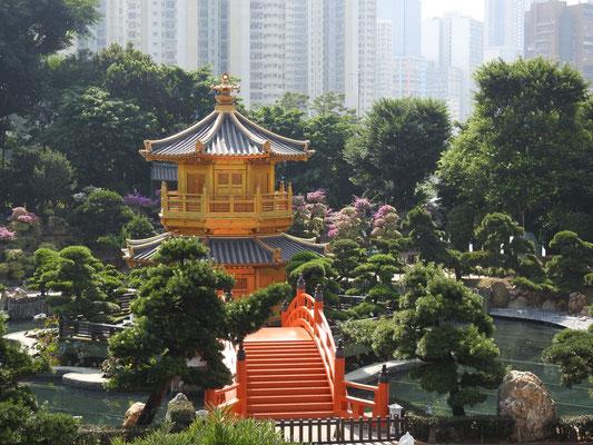 der wunderschöne Nan Lin Garten des Chin Lin Klosters