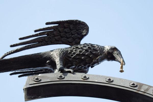 Rabe, der dem ungarischen Königs Matthias Corvinus einen goldenen Ring gestohlen haben soll