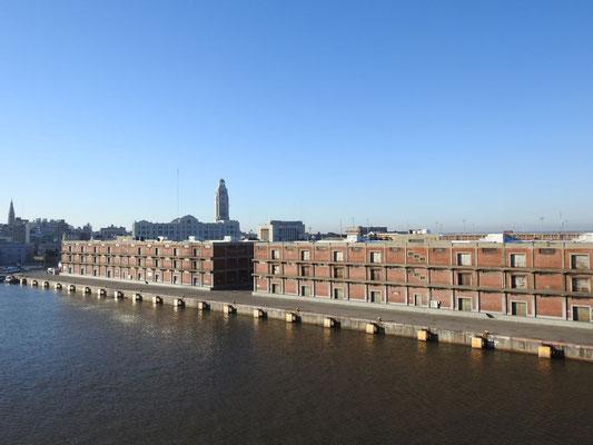der Hafen von Montevideo