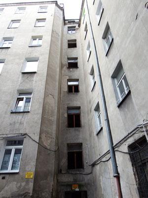 Wohninnenhof in Warschau