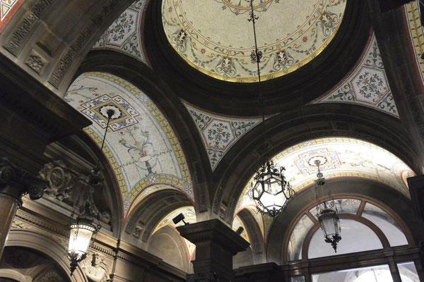 und so sieht das Rathaus in Glasgow von innen aus