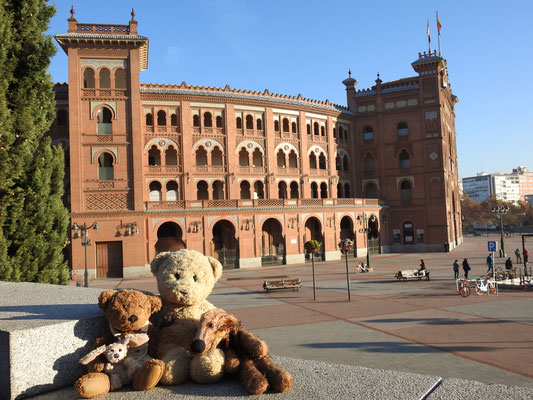 Las Ventas, die Stierkampfarena in Madrid
