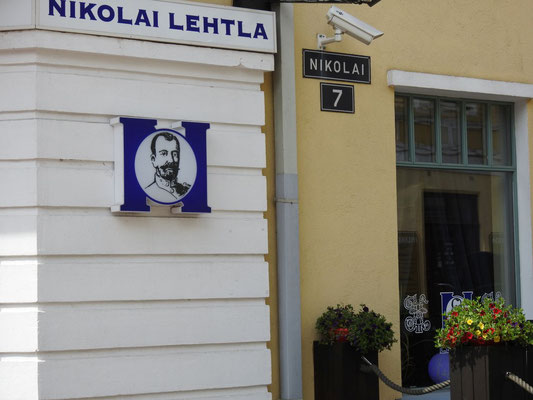 Sooo russisch war Parnü, Estland.