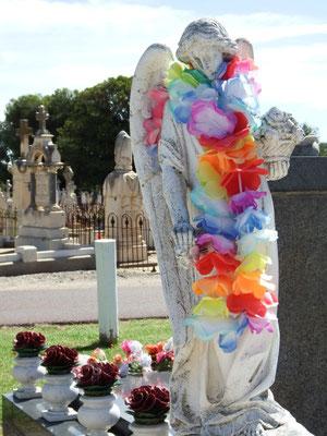 Seltsames auf dem Friedhof