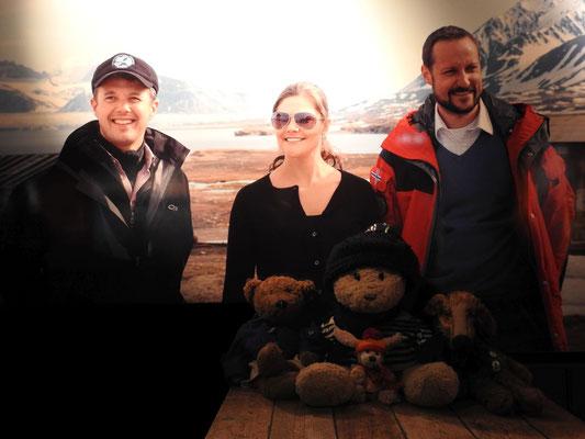 Ja iisset denn?! Ha! Wir treffen Prinz Frederik von Dänemark, Prinzessin Viktoria von Schweden und Prinz Haakon von Norwegen im Museum!