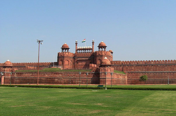 Red Fort, Foto Alex Furr - http://www.sxc.hu/photo/265265