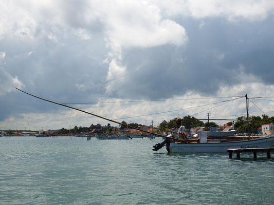 Bootidylle Rio Lagartos -  Riviera Maya - Yucatán, Mexiko