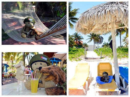 mit kubanischer Strandentspannung pur