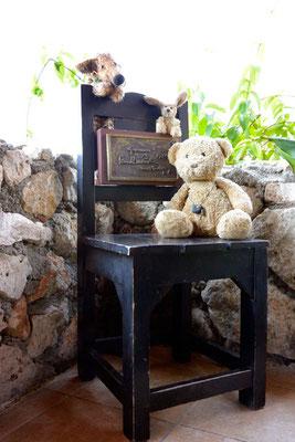 in der Casa de la Trove, Santiago de Cuba - auf diesem Stuhl hat Paul McCartney gesessen und: jetzt auch wir!