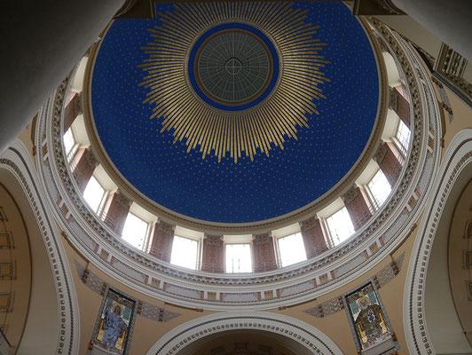 Kuppel der Karl-Borromäus-Kirche