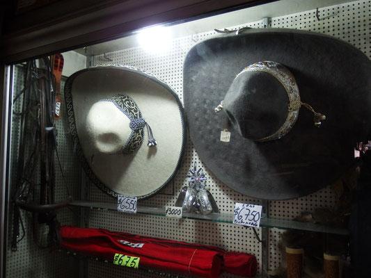 Meridá - Yucatán, Mexiko - Ups, ne, so viel Taschengeld haben wir für originalen Sombrero dann doch nicht.