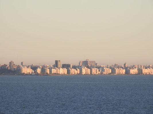Montevideo, Uruguay, in den frühen Morgenstunden