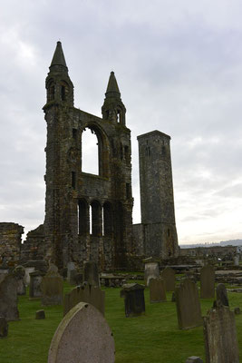 St. Andrews Cathedral, Schottland