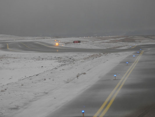 Oohh, das sieht ja aus wie bei unserer Landung in Finnisch-Lappland 2018.