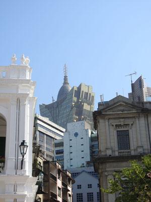 im Stadtkern Macaos