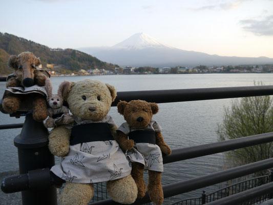 Fuji-san und wir