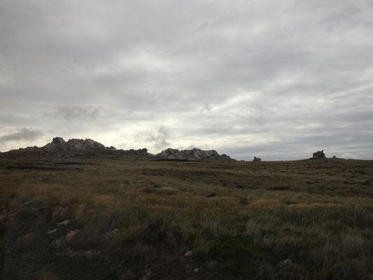 So sieht es also auf den Falklands aus.