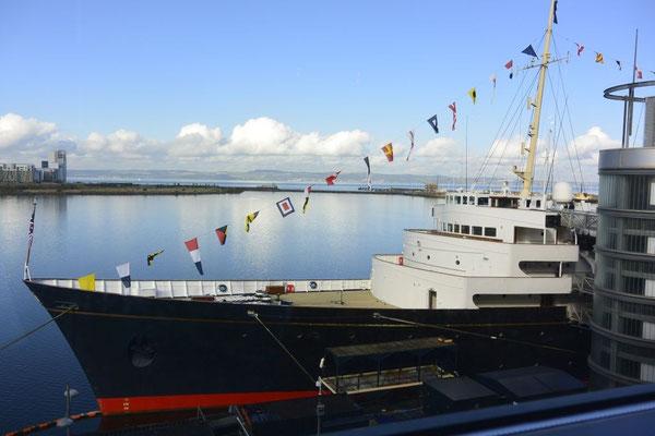 die Royal Britannia - ein stolzes Schiff