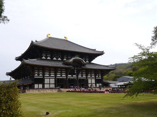 Tempel Todai-ji in Nara - das größte rein aus Holz gebaute Gebäude der Welt aus dem Jahre 751