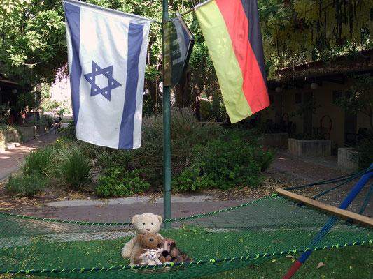 Wir im Kabbutz - oh, ne, Kibbutz (Kabbutz sagte die Steffi - huhu! Gaaanz liebe Grüße!)