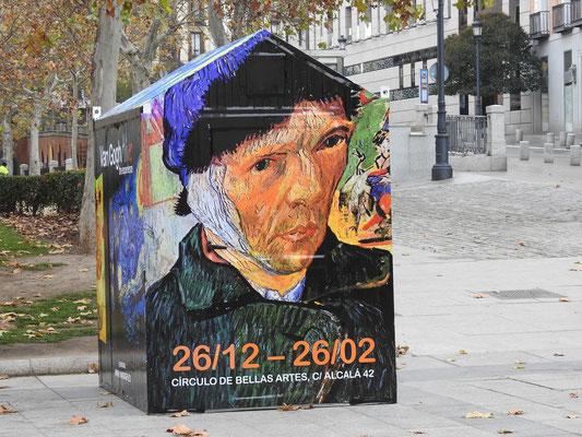 Strassenkunst in Madrid