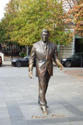 Aha? Ronald Reagan in Budapest.