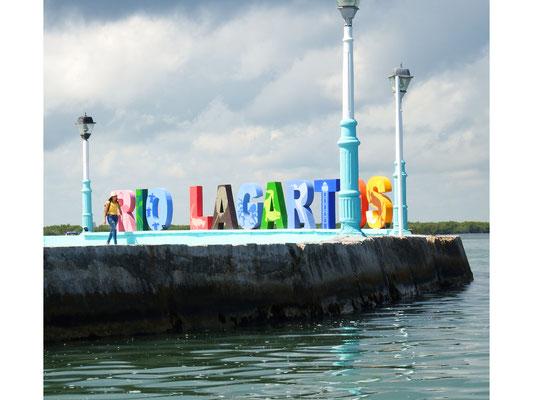 Uferpromenade Rio Lagartos -  Riviera Maya - Yucatán, Mexiko