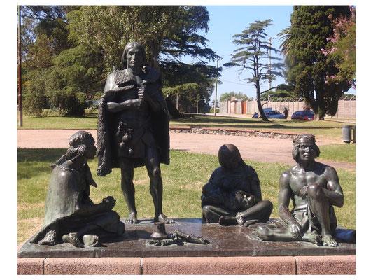 Monumento a los Indios Charruas zum Gedenken an die Ureinwohner Uruguays