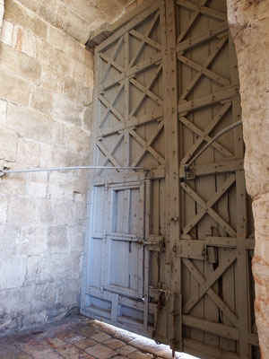 Das Jaffa-Tor, Jerusalem - erstmalig seit 1967 vorübergehend wegen des Attentats am 14. Juli 2017 geschlossen