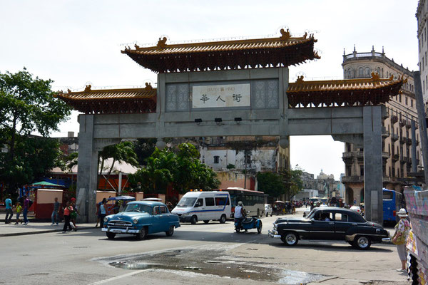 China-Town in Havanna!