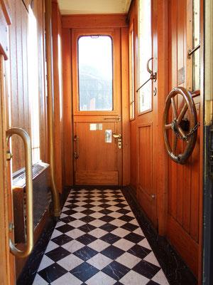 da waren Züge noch elegant
