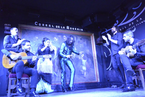 Flamenco im Corral de la Morería, Madrid