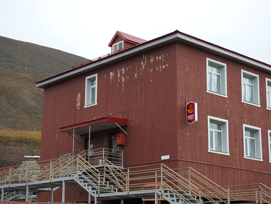 Barentsburg hat eine Post!