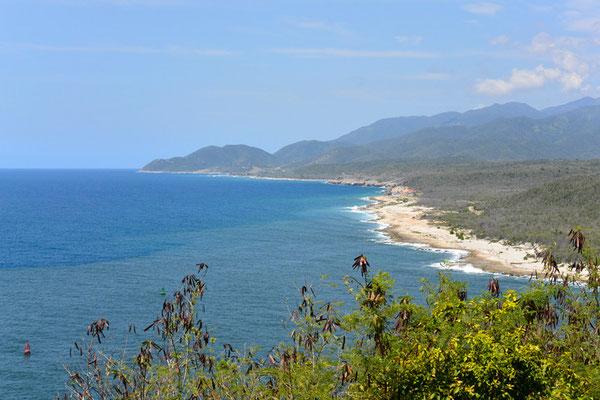 die Bucht von Santa Lucia...