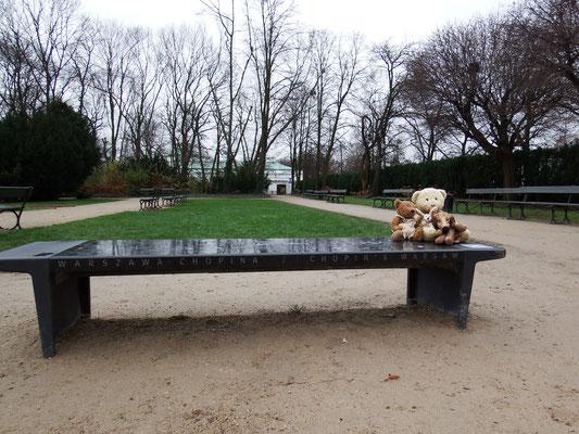 Łazienki-Park in Warschau, mit fast 80 ha die größte Parkanlage